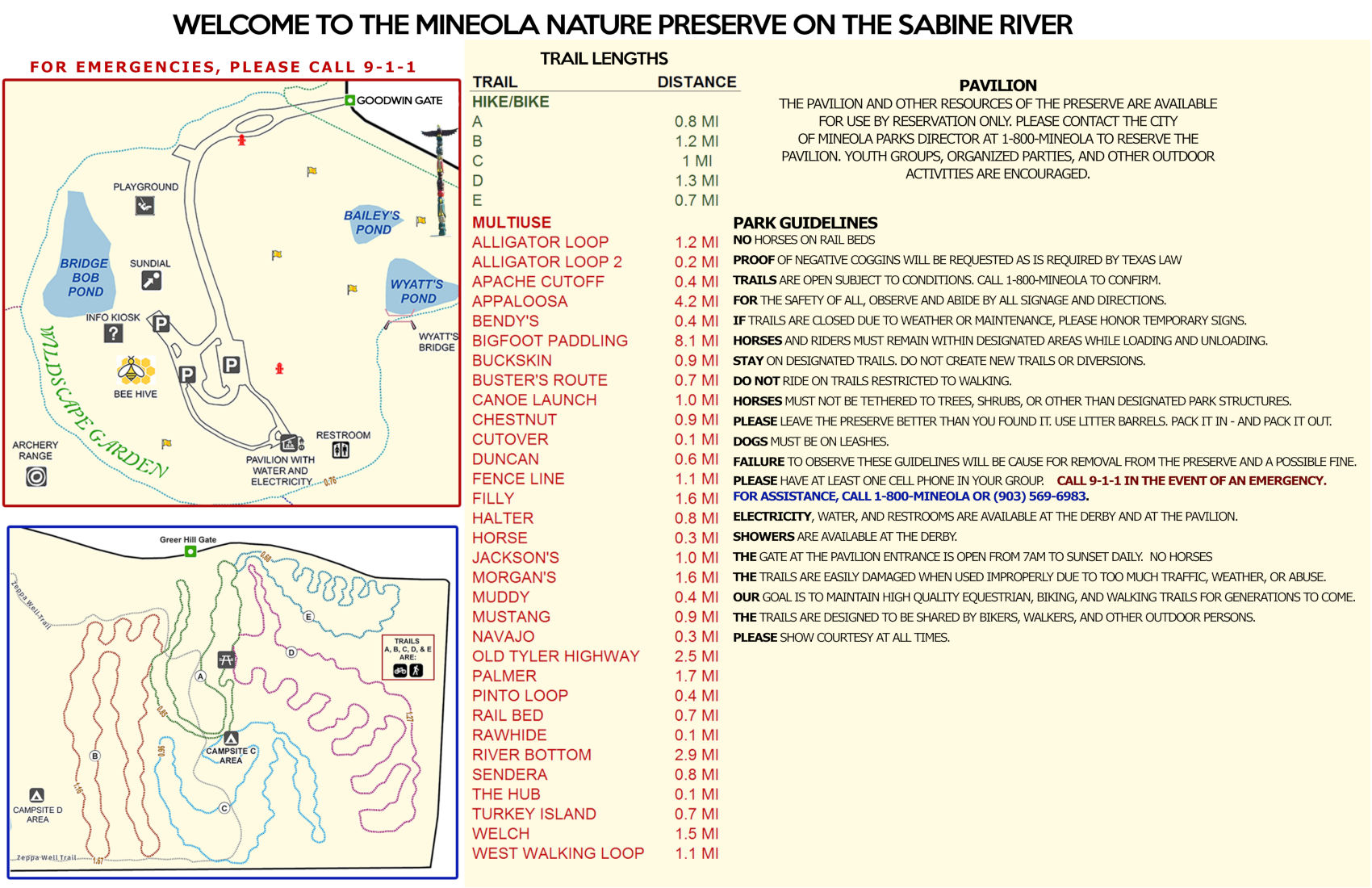 Mineola Nature Preserve Park Map 02282018 etcog page 2